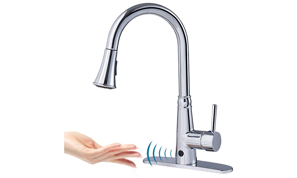 Giantex Motion Sense Touch Less Kitchen Faucet
